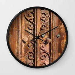 Doors from Porto 1 Wall Clock