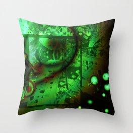 Viscous Life Throw Pillow