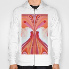 522 - Abstract Butterfly Design Hoody