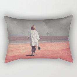 Watching you Leave me. Didn't want to Rectangular Pillow