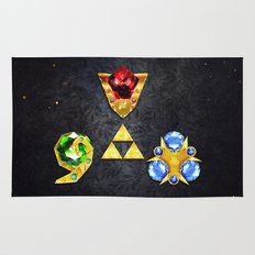 The Timeless Legend of Zelda Inspired Spiritual Stones Rug
