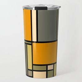 Frank Lloyd Wright Inspired Art Travel Mug