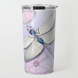 Purple Dragonflies Travel Mug