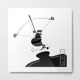 Cazadora B Metal Print