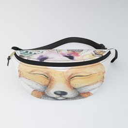 Forest Fox by Nature Magick Fanny Pack