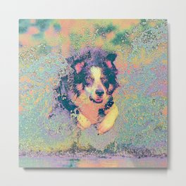 Pastel_Dog_001_by_JAMColors Metal Print