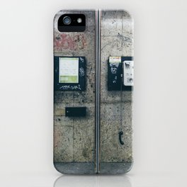 Call Box iPhone Case