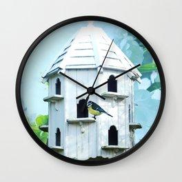 Bird house Wall Clock