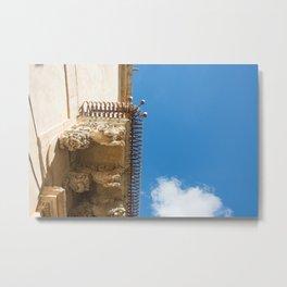 Balcony Sicily architecture Metal Print