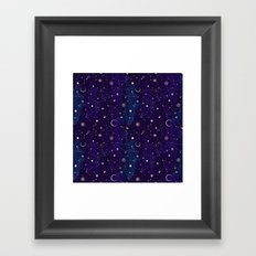 Night of a Thousand Moons Framed Art Print