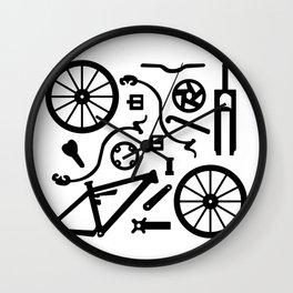 Bike Parts Full Suspension Wall Clock