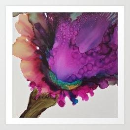 Iris Spray Art Print