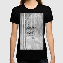Les Miserables Quote Winter T-shirt
