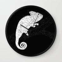 chameleon Wall Clocks featuring CHAMELEON by ARCHIGRAF