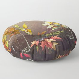 When Every Leaf is a Flower Floor Pillow