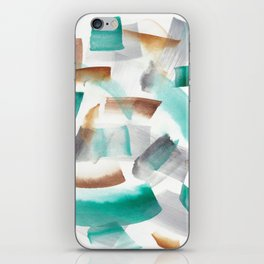 180719 Koh-I-Noor Watercolour Abstract 32  Watercolor Brush Strokes iPhone Skin