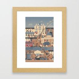 London Buskers Framed Art Print
