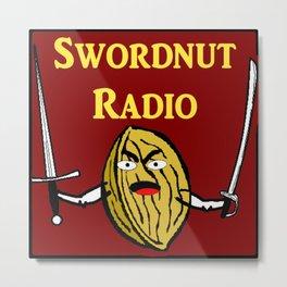 Swordnut Radio Metal Print