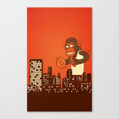 monkey on your back Canvas Print