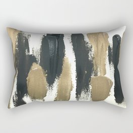 Obsessions in Black Rectangular Pillow