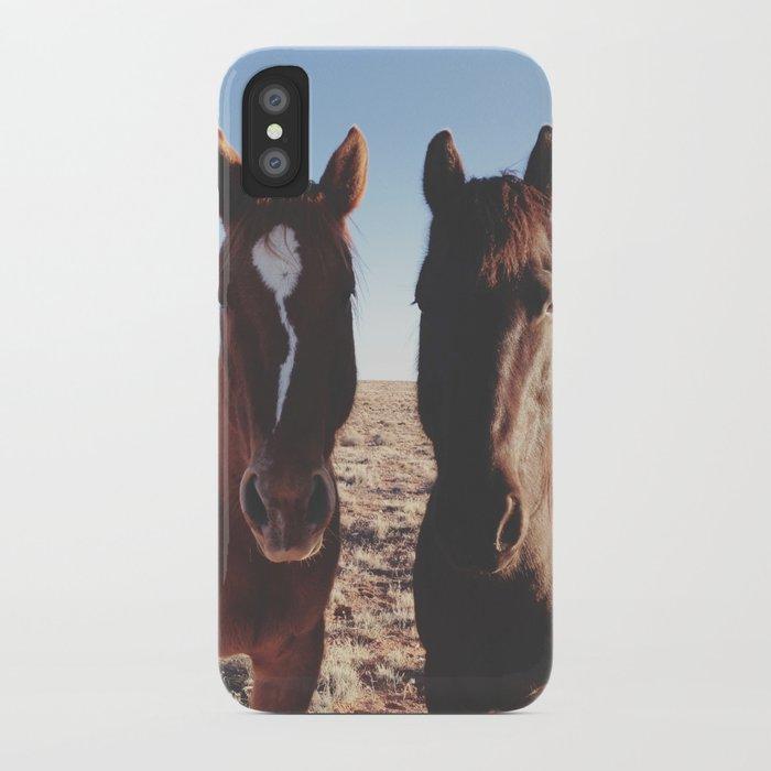 Horse Friends iPhone Case