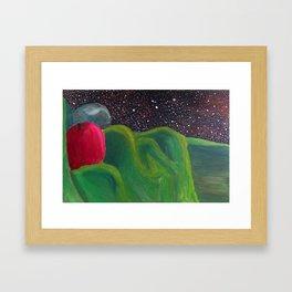 Galactic Date Framed Art Print