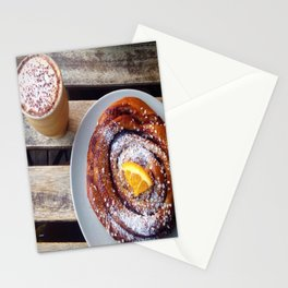 Swedish fika Stationery Cards