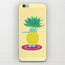Pineapple Ellie iPhone Skin
