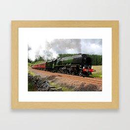 46233 Duchess of Sutherland Framed Art Print
