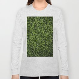 leaves pattern Long Sleeve T-shirt