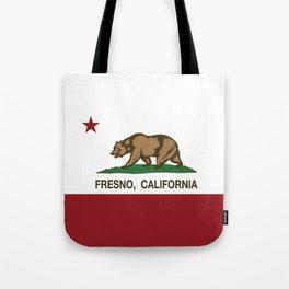 Fresno California Republic Flag Tote Bag