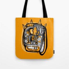 Fiesta Face Tote Bag