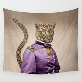 Grand Viceroy Leopold Leopard Wall Tapestry