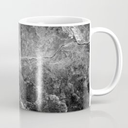 Enigmatic Black Marble #1 #decor #art #society6 Coffee Mug