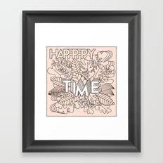 Happy time Framed Art Print
