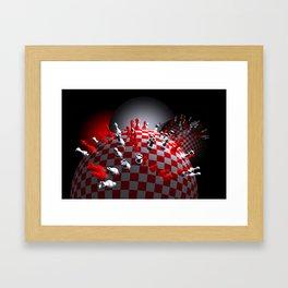 do you like chess Framed Art Print