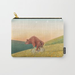 Bea morning cycling Carry-All Pouch