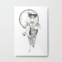 Major Arcana XIV Temperance Metal Print