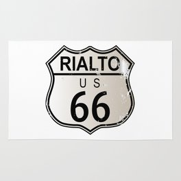 Rialto Route 66 Rug