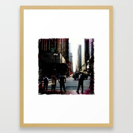 The Berghoff, Chicago 2011 Framed Art Print