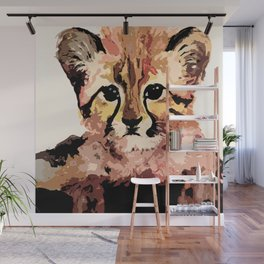 Leo the leopard Wall Mural