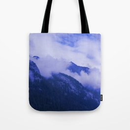 Cloudy Hights Tote Bag