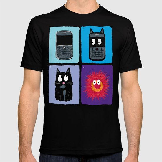 Don't Let Your BlackBerry Turn into Exploding Cats.  T-shirt