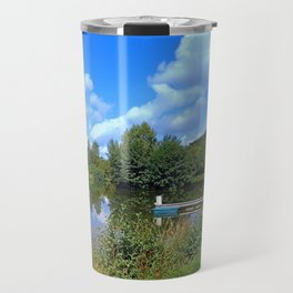 At the fairytale pond | waterscape photography Travel Mug