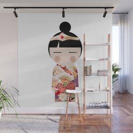 japan animation (girl power) Wall Mural
