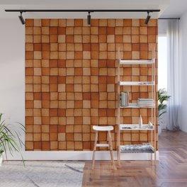 Wood Blocks-Maple Wall Mural