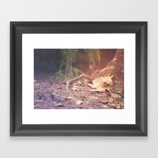 Autumn in August Framed Art Print