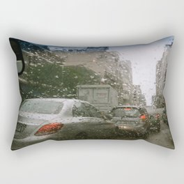 Cape Town traffic on a rainy day Rectangular Pillow