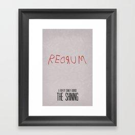 The Shining 02 Framed Art Print