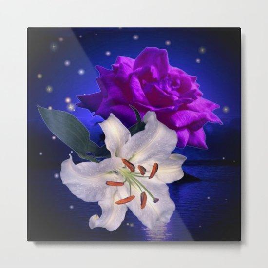 Magic Flowers  Metal Print